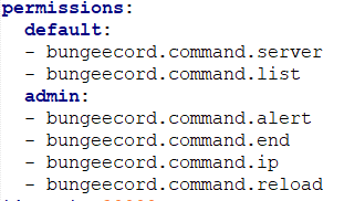bungeecord permissions