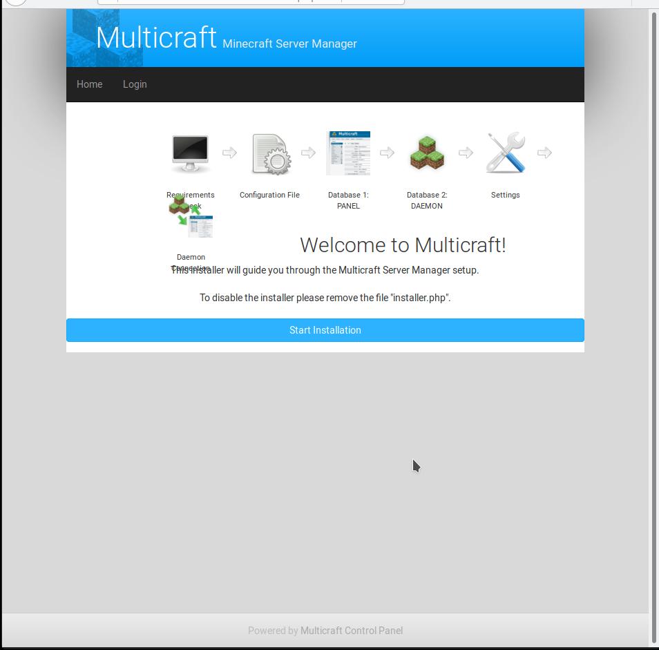 multicraft panel