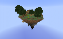 Large skyblock island 1