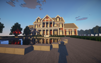 Colonial mansion 2 (shaders)