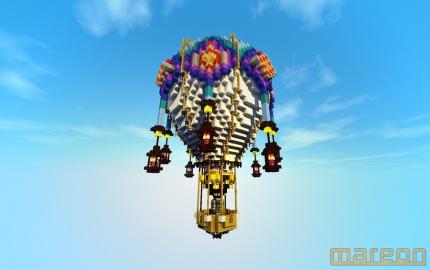 Hot air balloon 1 (shaders)