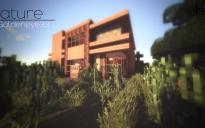 Modern house 1 (exterior)