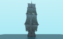 Flying dutchman 2 (front on)