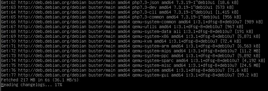 updating stuff on vps