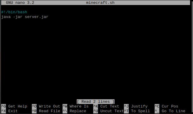 installing minecraft on vps
