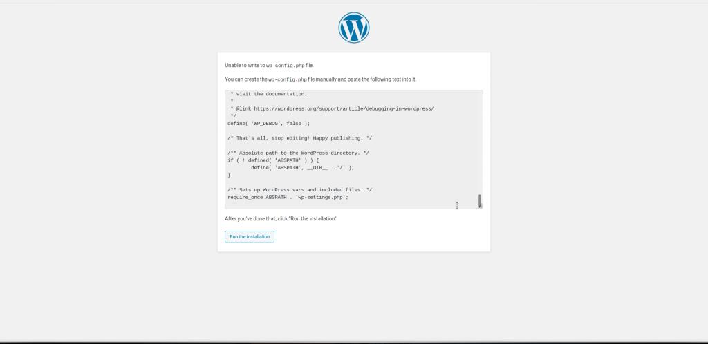 Copy configuration file text